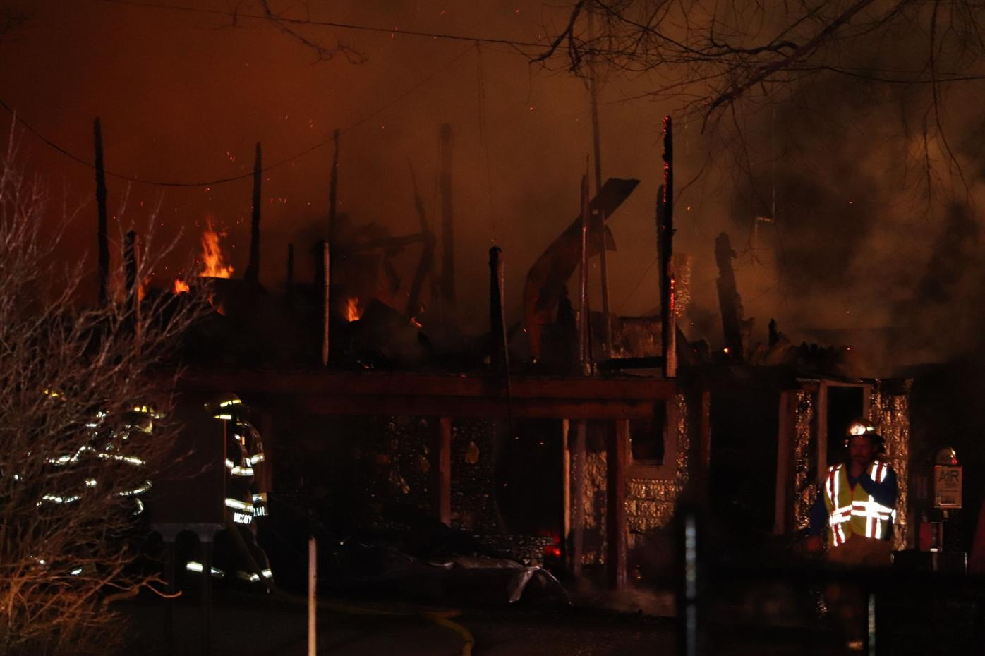 Todd General Store fire 1