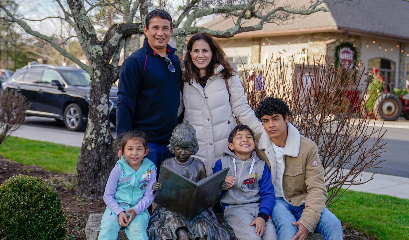 The Silva family from Miami