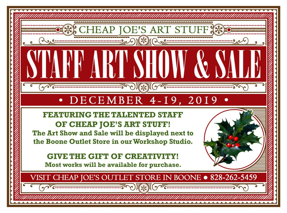 CJ Staff Art Show 2019