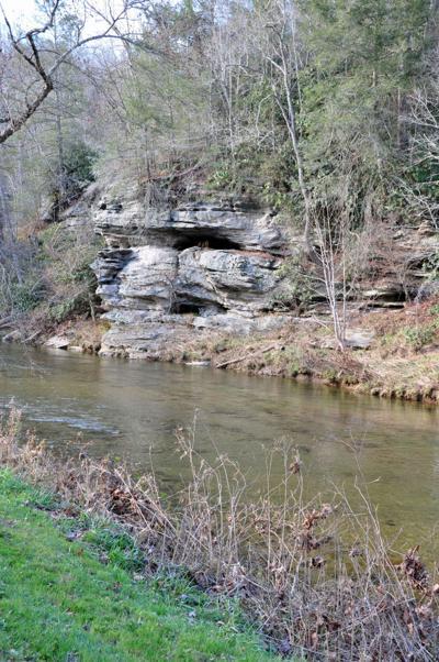Caves along the Watauga River