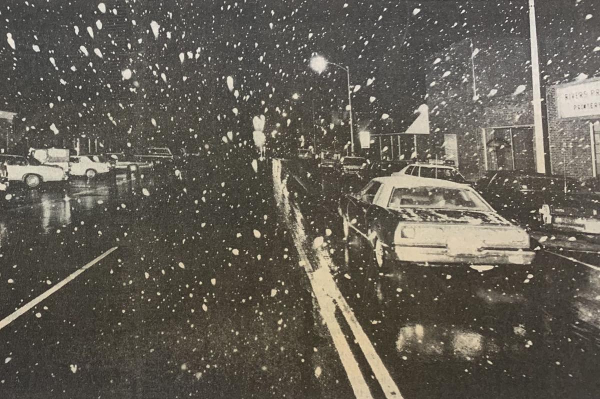 Winter weather 1977