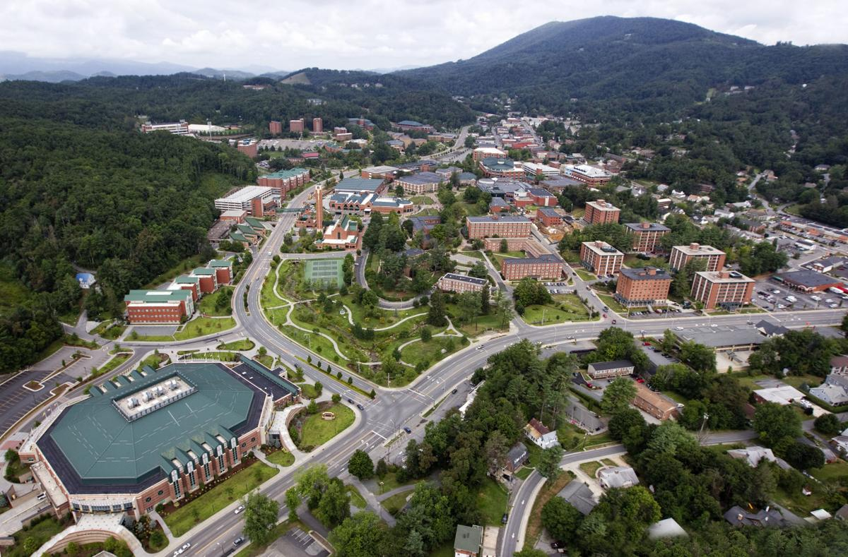 Appalachian State aerial view
