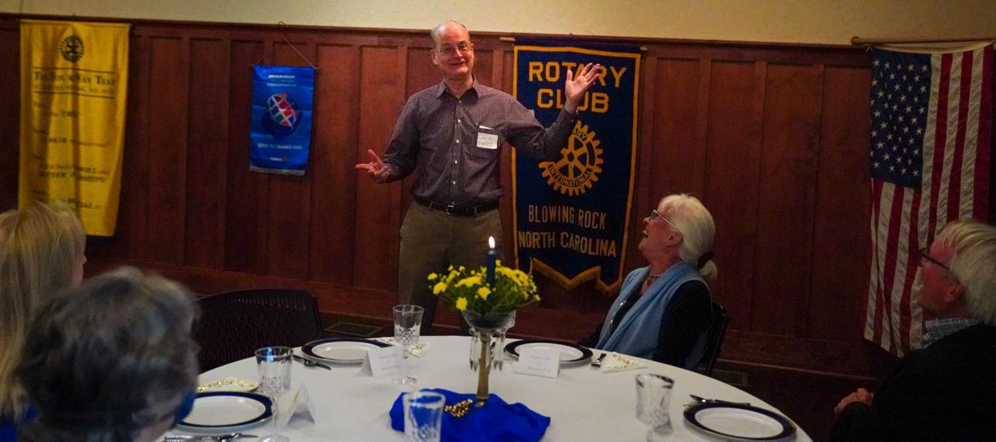 David Sweet, Rotary
