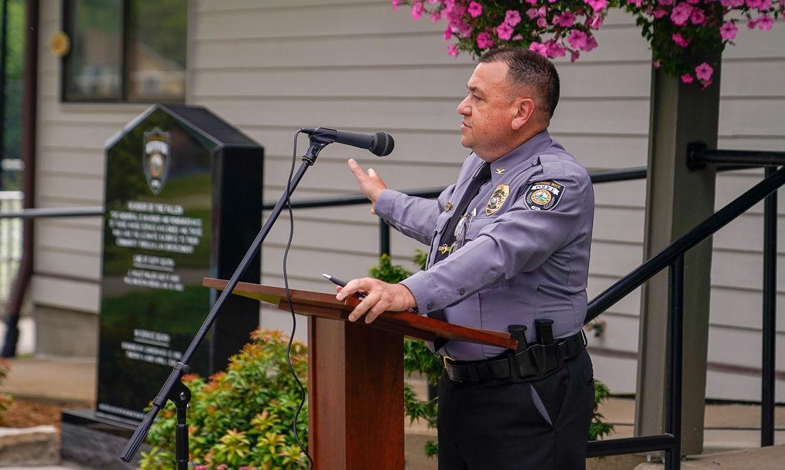 Blowing Rock police chief Aaron Miller