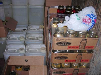 926 gallons of moonshine seized
