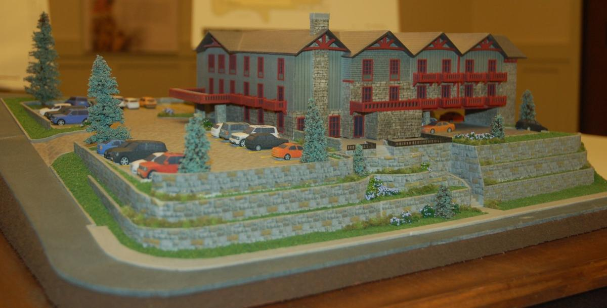 Rainey Lodge model