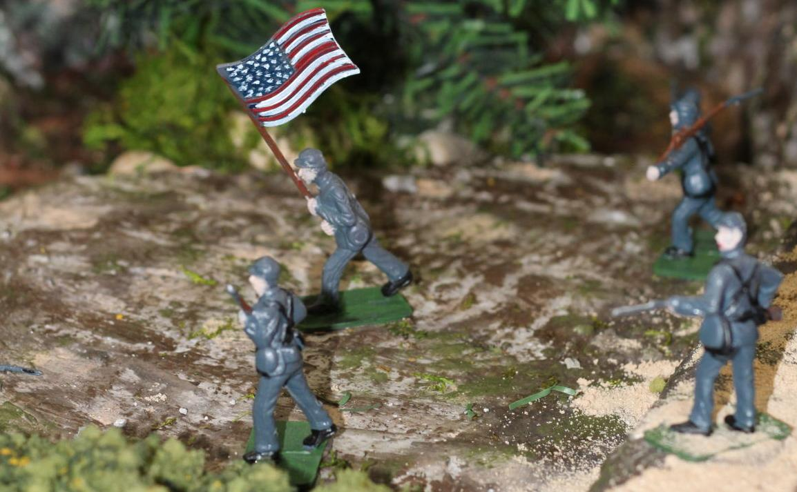 Beech Mountain diorama union