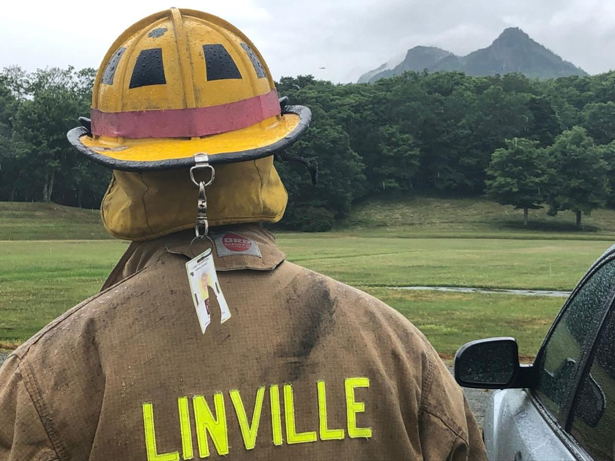 Linville Fire at MacRae Meadows