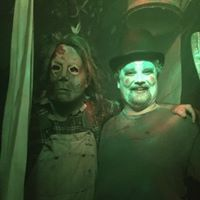 Live actors from the Haunted Factory keep guests in suspense and terror