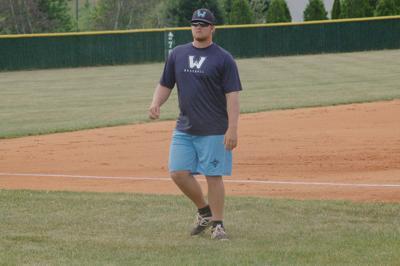 Watauga head baseball coach Ethan Greene