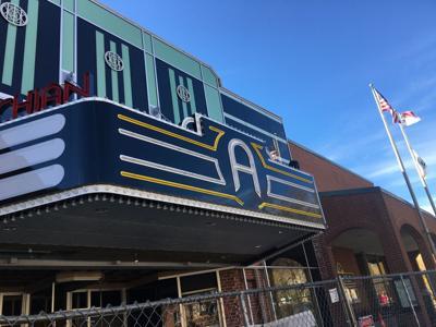 Appalachian Theatre marquee