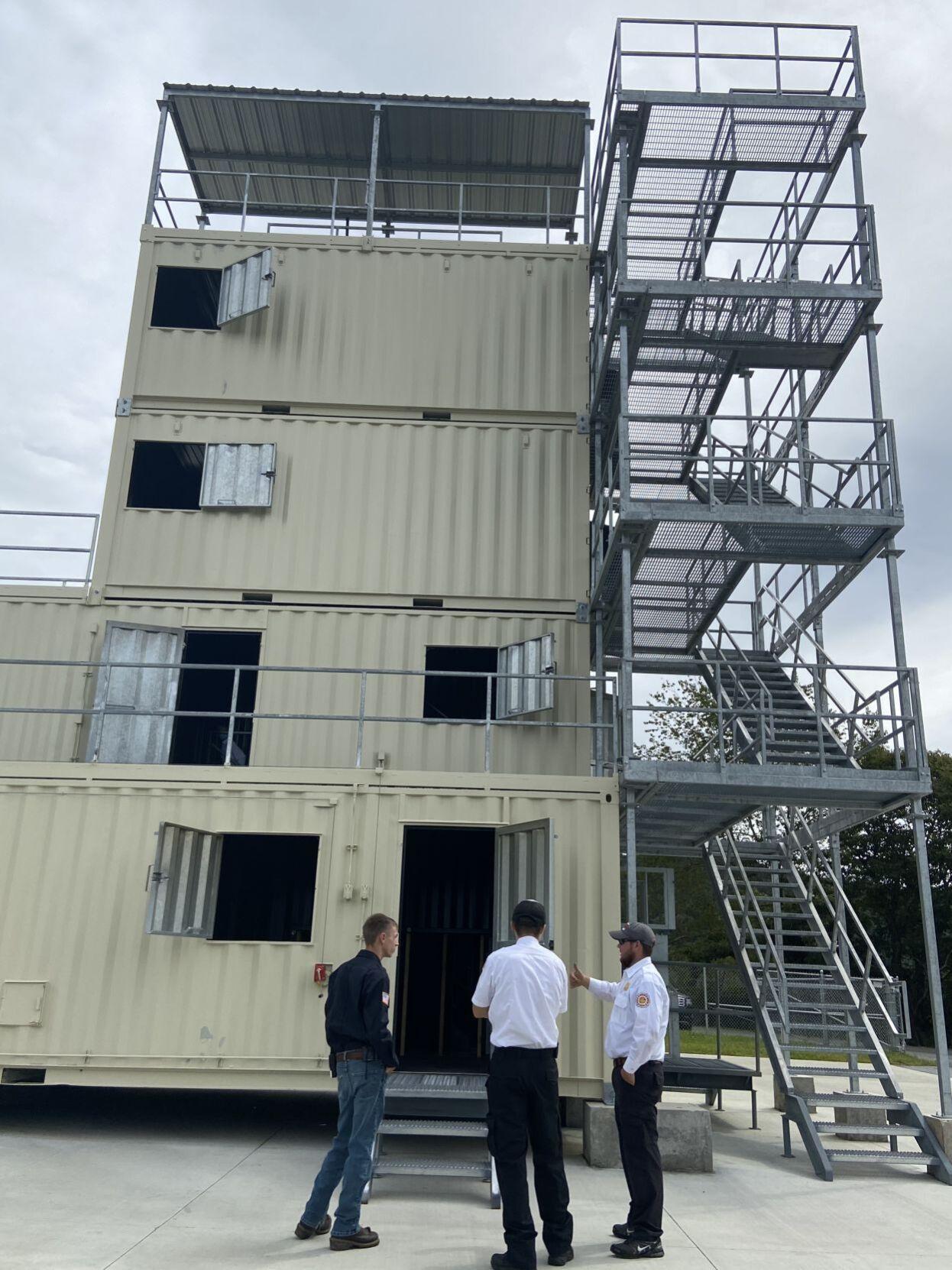 Fire training facility Ashe