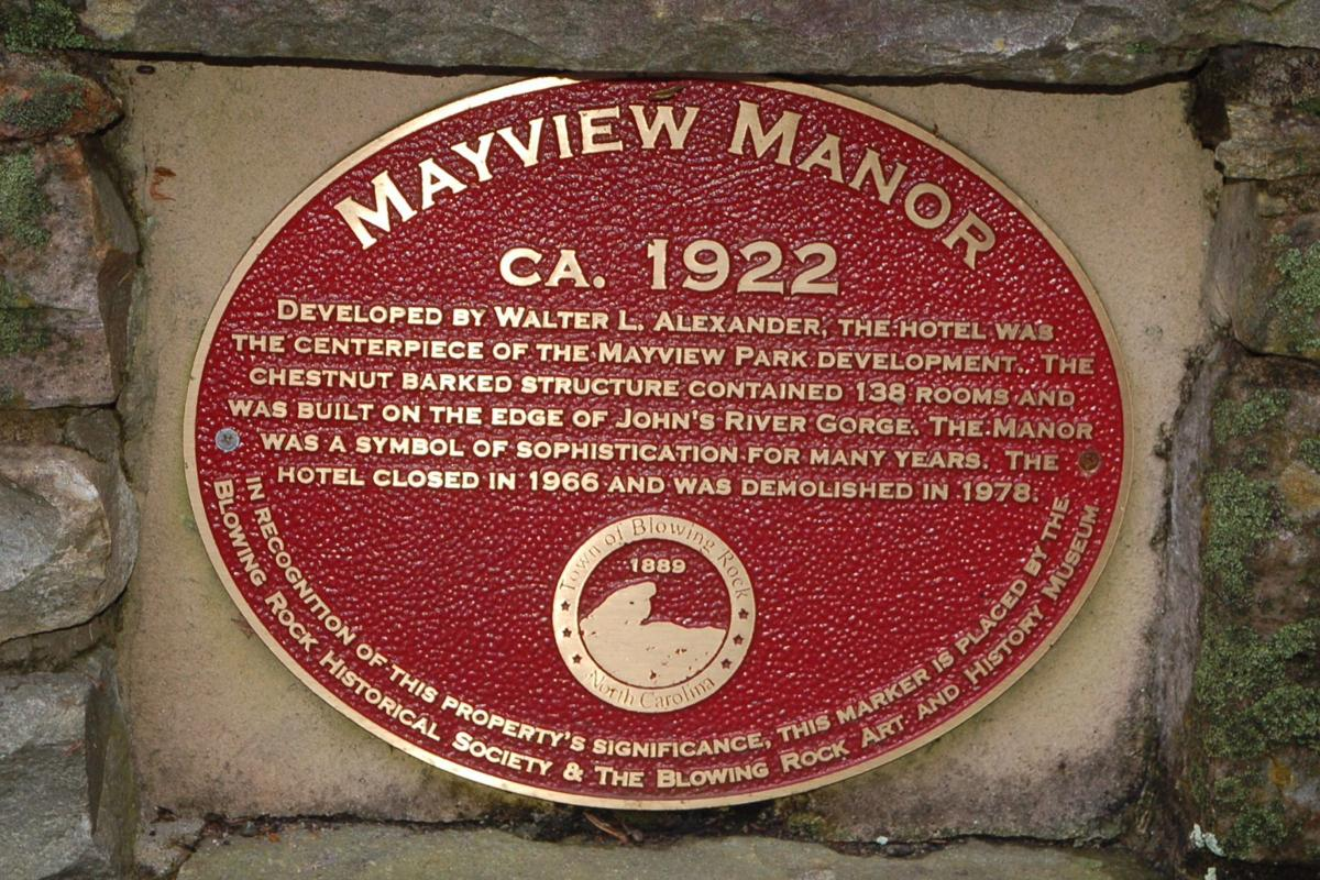 Mayview Manor marker