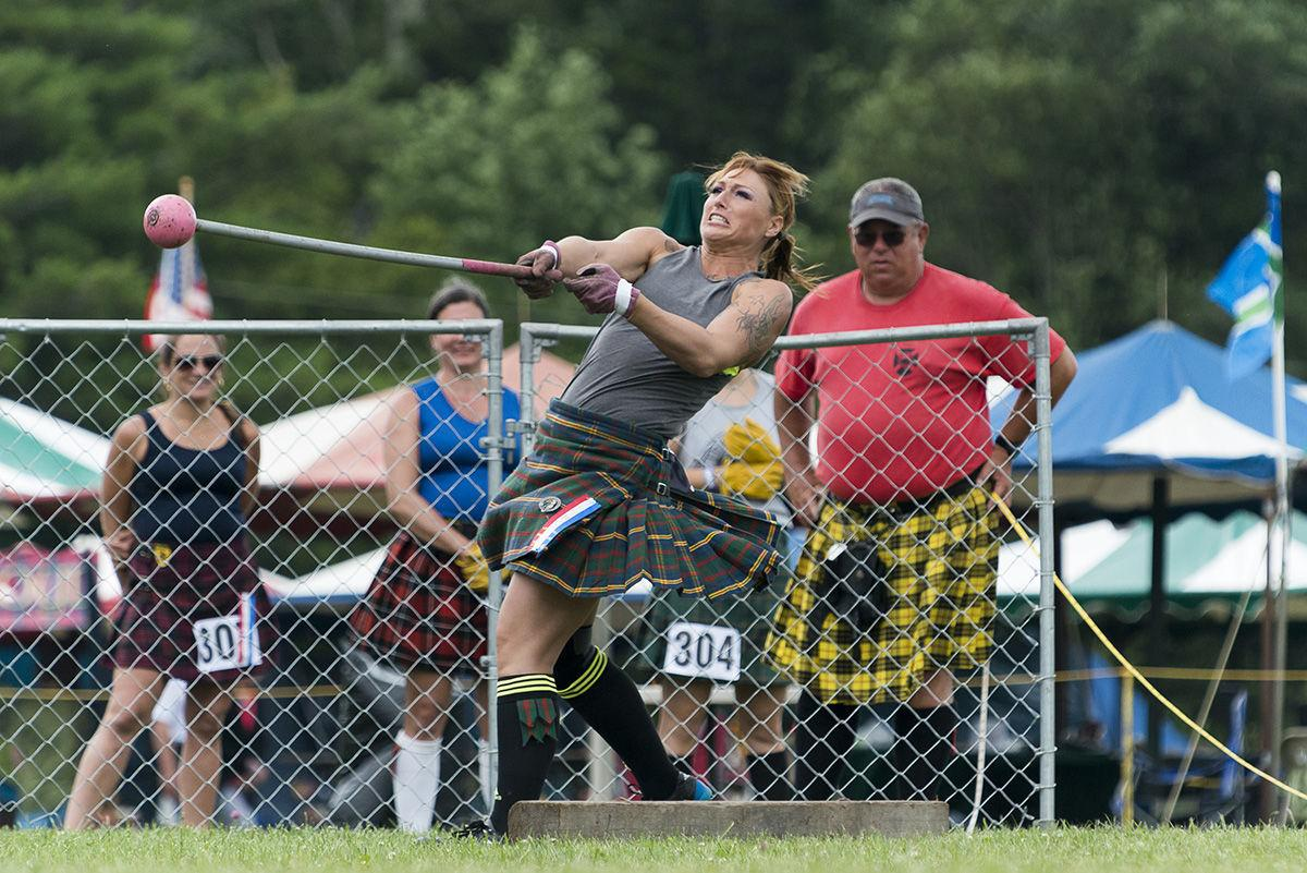 Marine Veteran Crushes Women's Events At Highland Games
