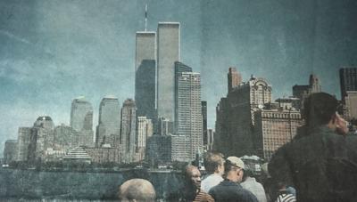 NY Skyline photo before 9/11