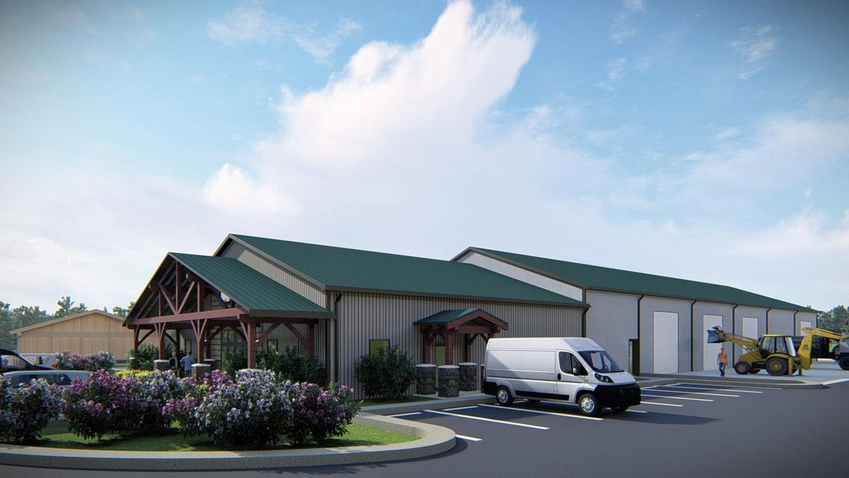 Beech Mountain's proposed public works building