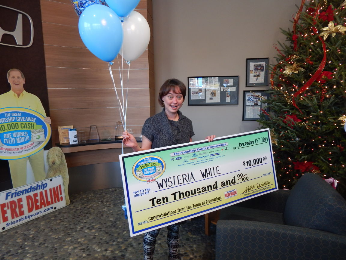 chamber employee wins 10 000 giveaway mountain times. Black Bedroom Furniture Sets. Home Design Ideas