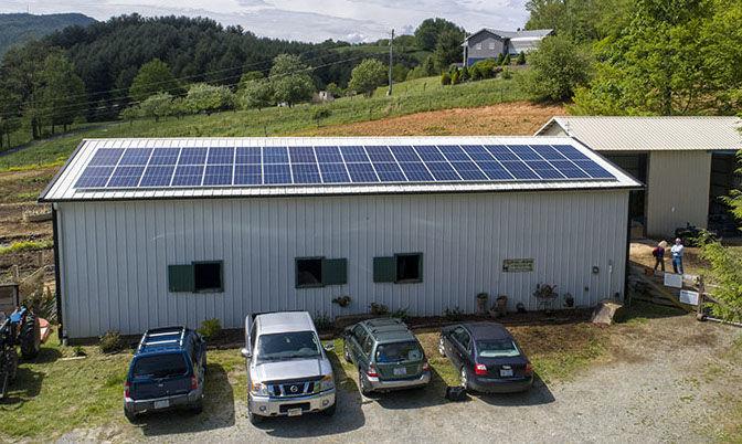 Horse Helps solar panels