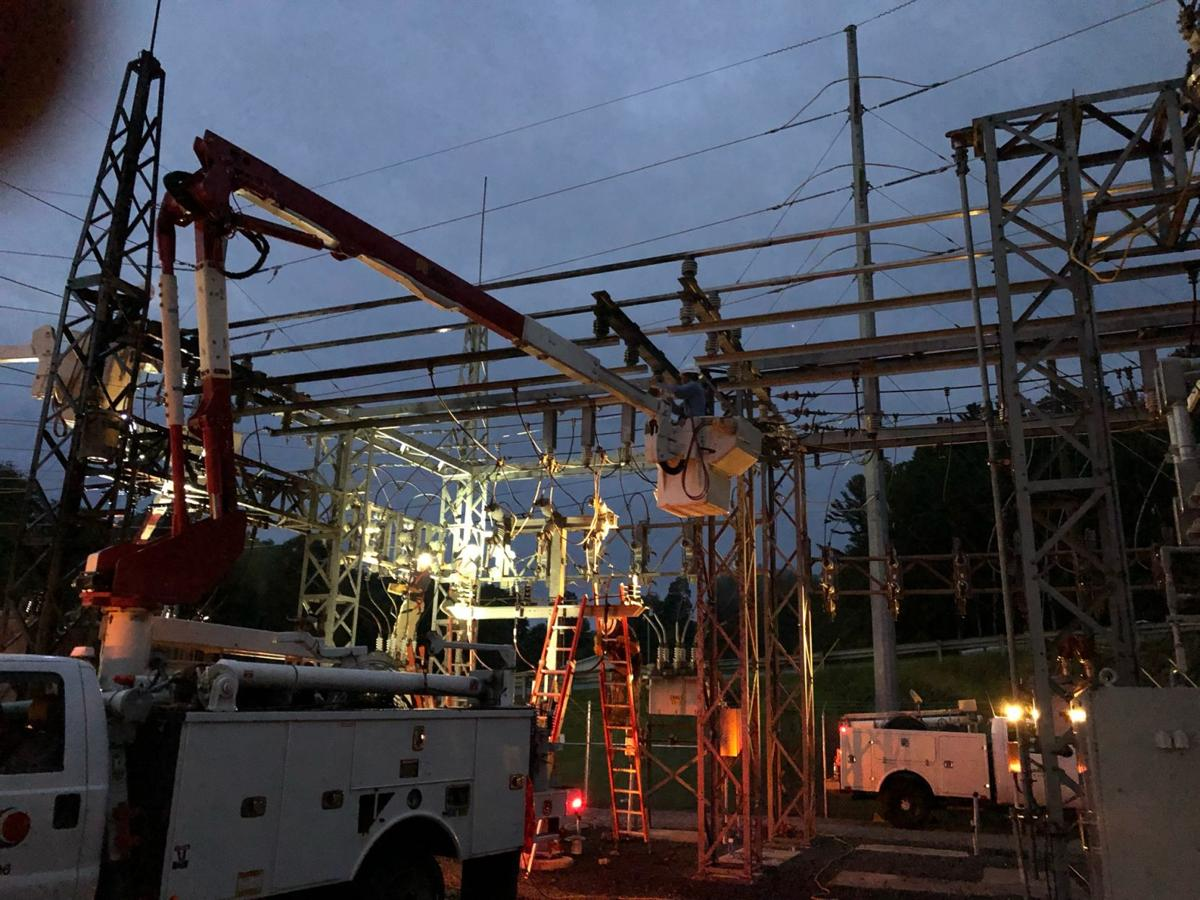 Substation work