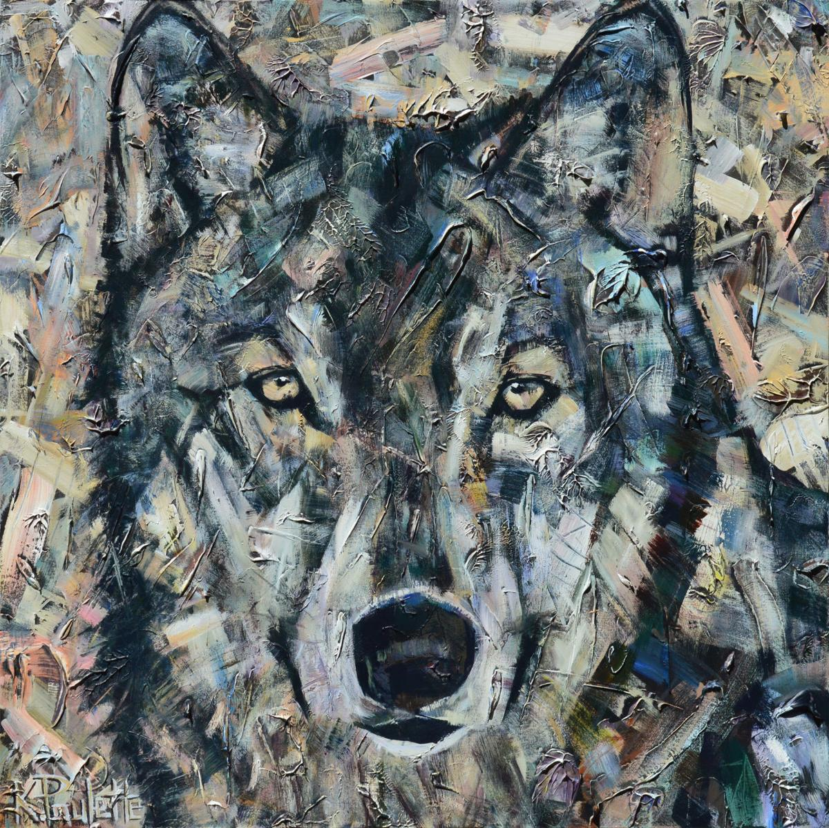 The Wild Wolf  is a painting featured at Studio 140 in Banner Elk by  artist Kent Paulette Gallery Times   Mountain Times   wataugademocrat com. Luminary Lighting John Kent. Home Design Ideas