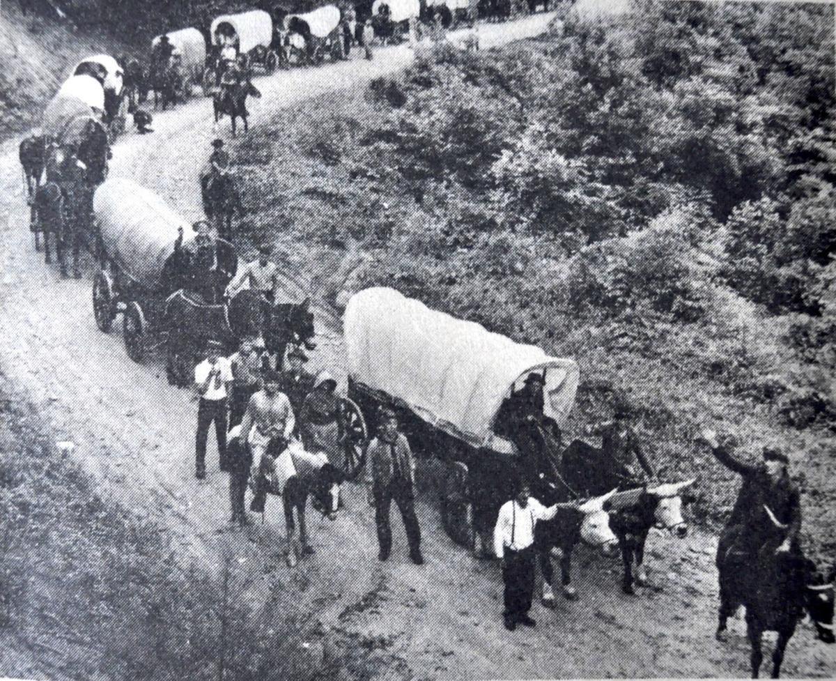 Daniel Boone Wagon Train