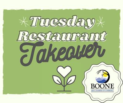 Tuesday Restaurant Takeover
