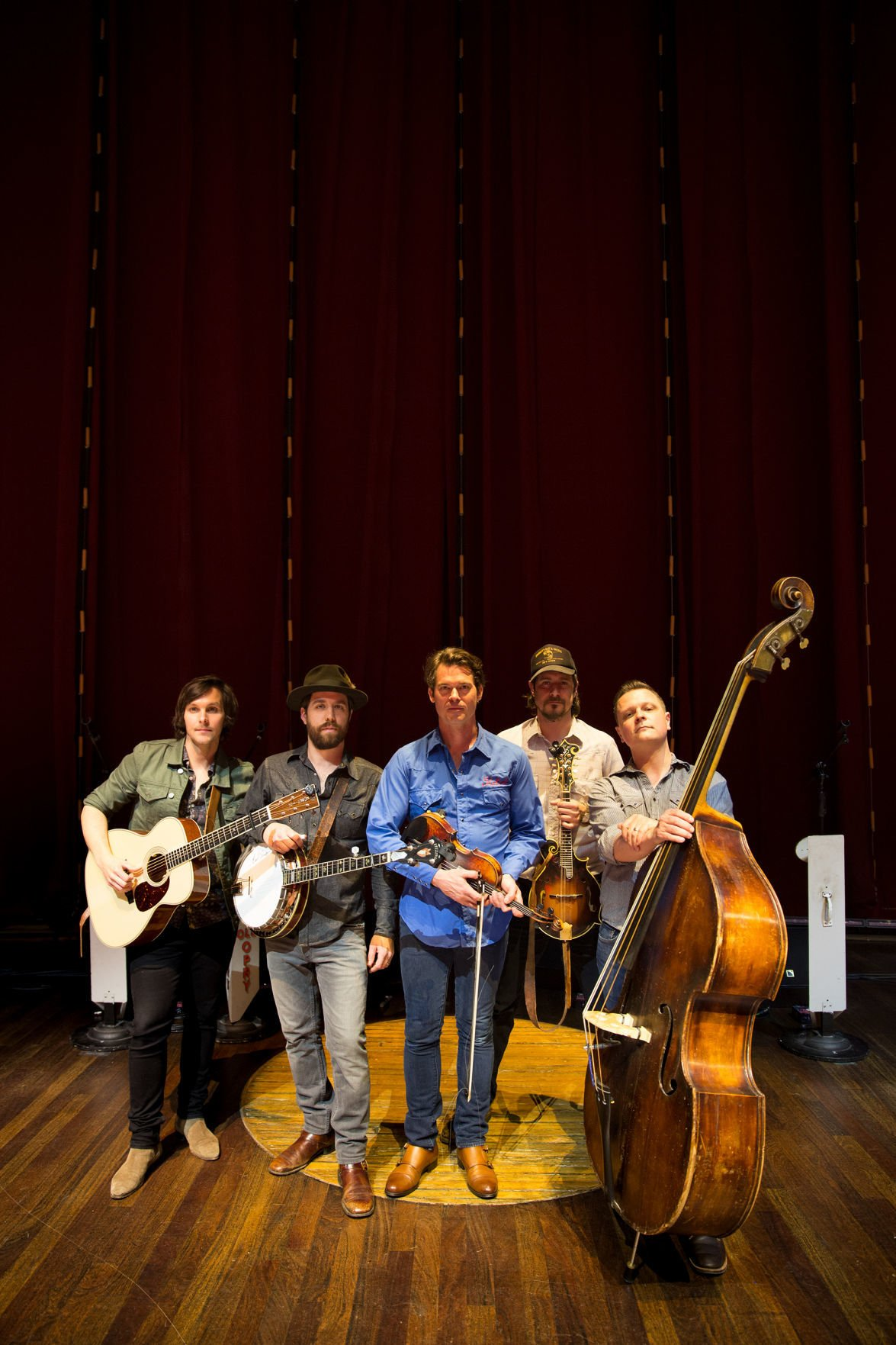 The Old Crow Medicine Show band will perform on Nov. 17.