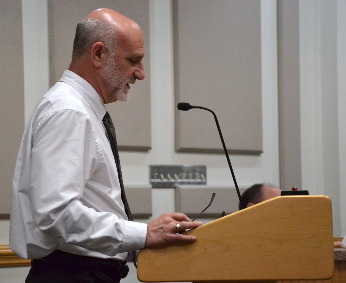 Planning and Inspections Director Joe Furman