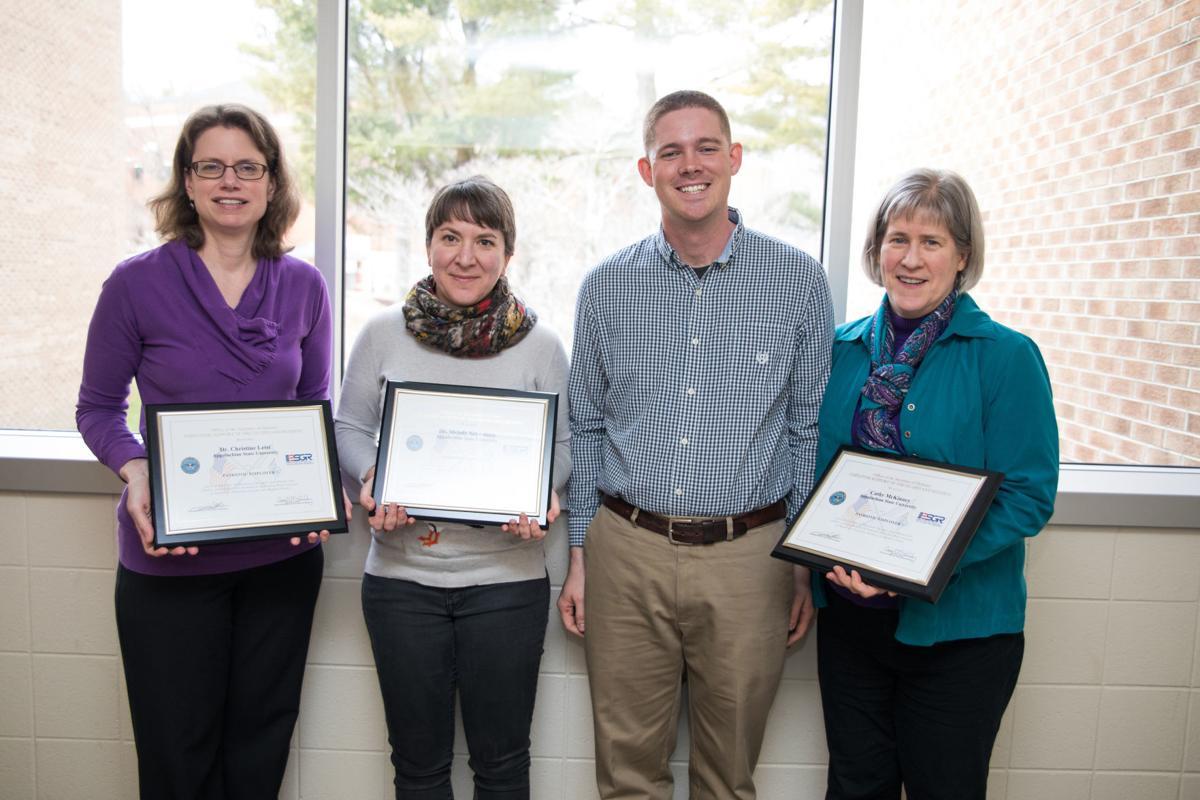 Patriot Award recipients
