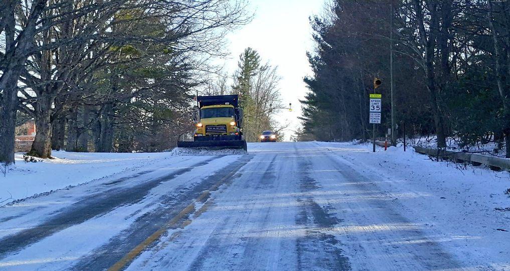 Parkway School snow