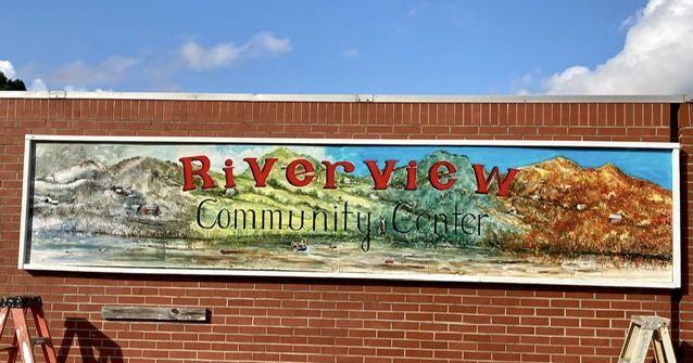 RCC center exterior mural