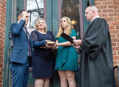 Dobson sworn in