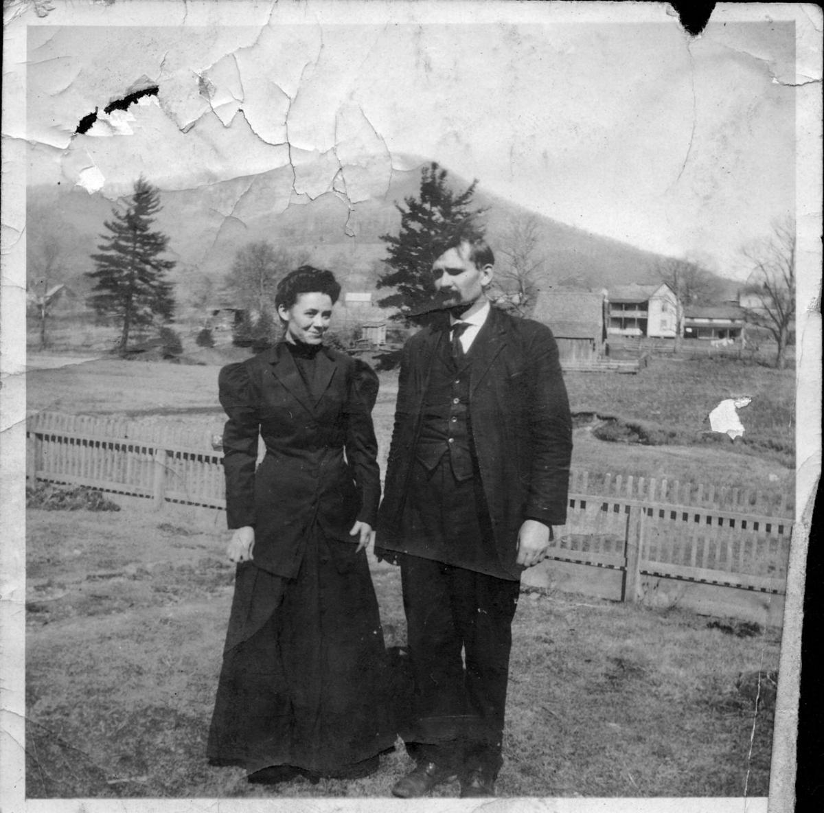 Lillie Shull and D.D. Dougherty