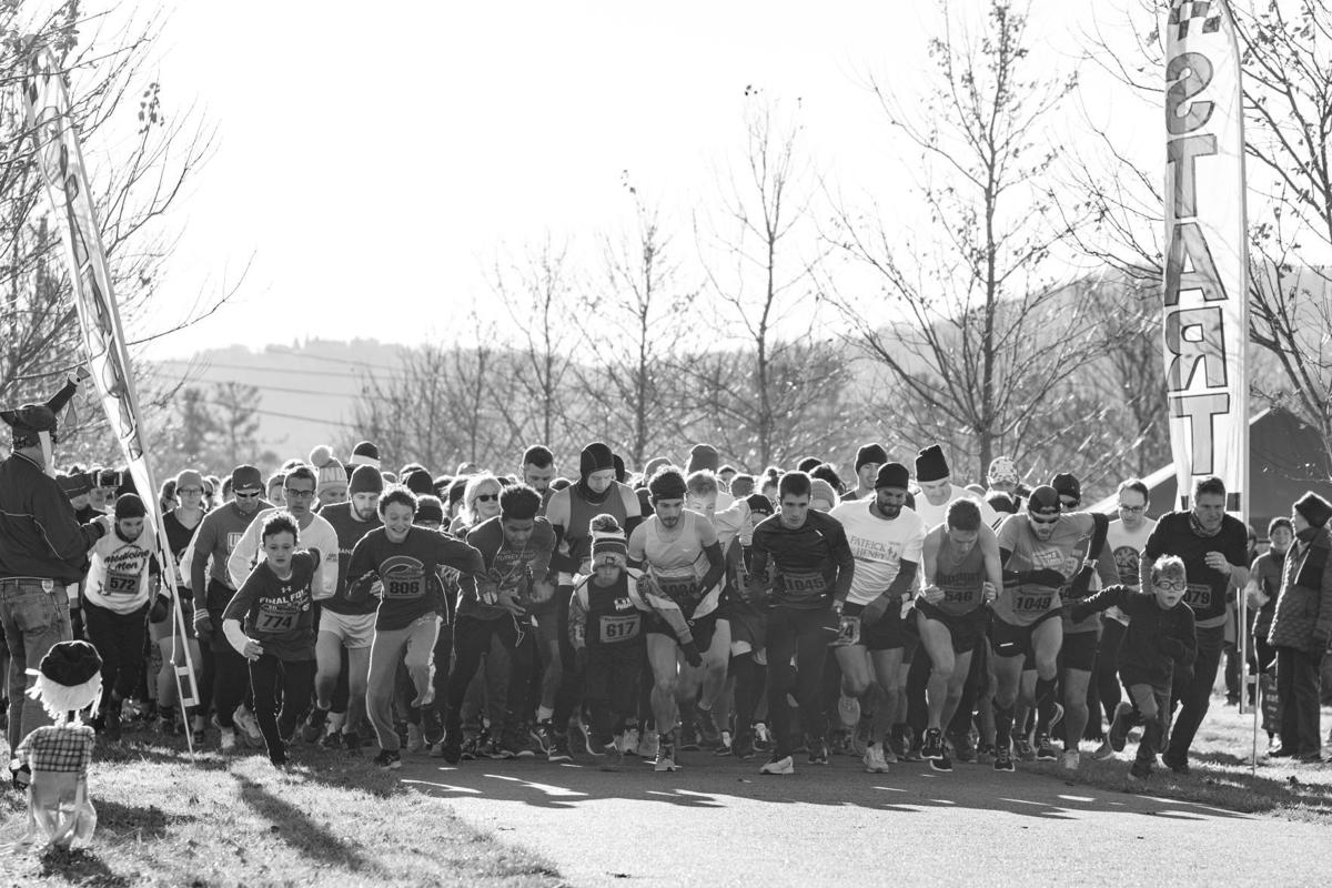 The annual High Country Turkey Trot 5K b/w