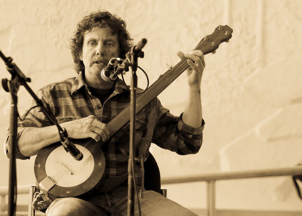 Rick Ward Preforms During the Black Banjo & Fiddle Gathering