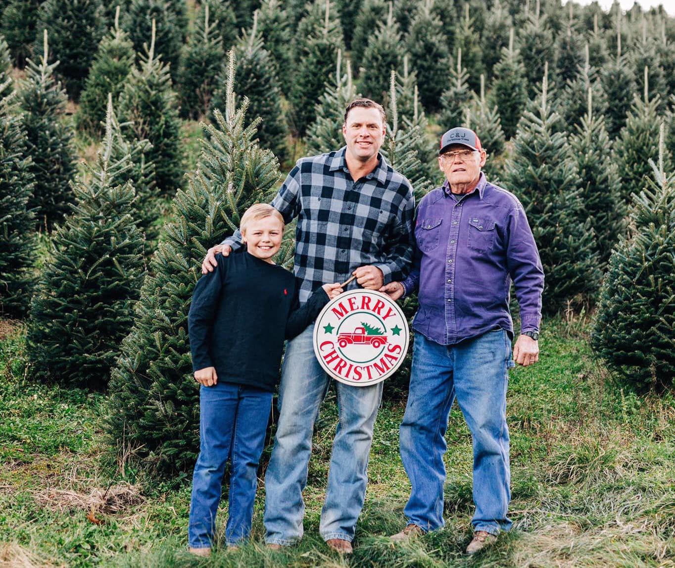 C and J Christmas Tree farm