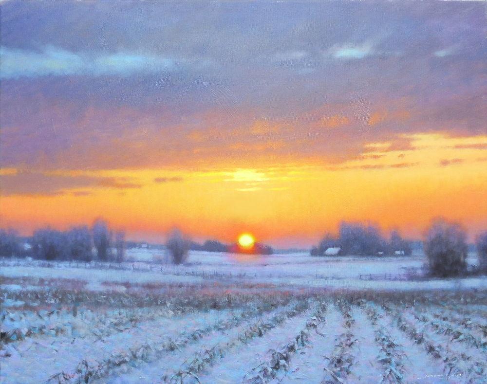 "'A New Day Dawning' (24"" x 30"") Alta Vista"