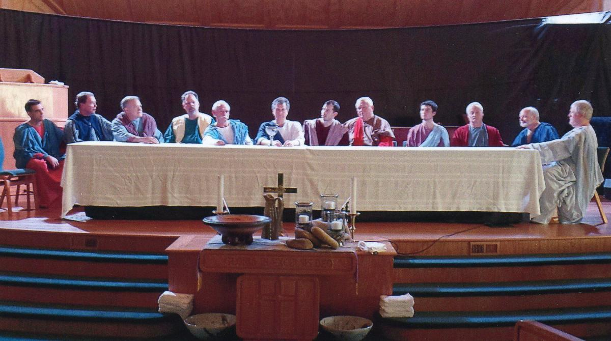 Boone United Methodist Church living Last Supper