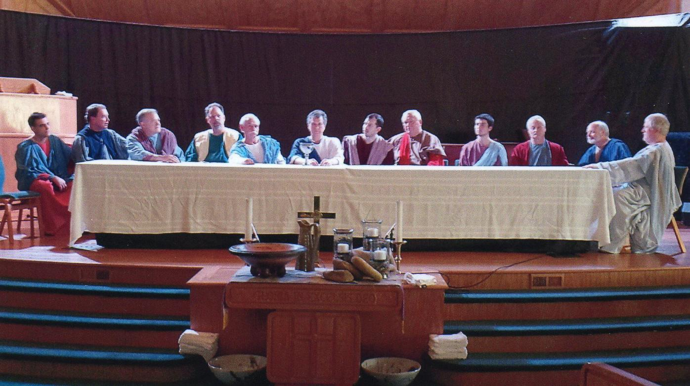 Boone United Methodist Church living Last Supper