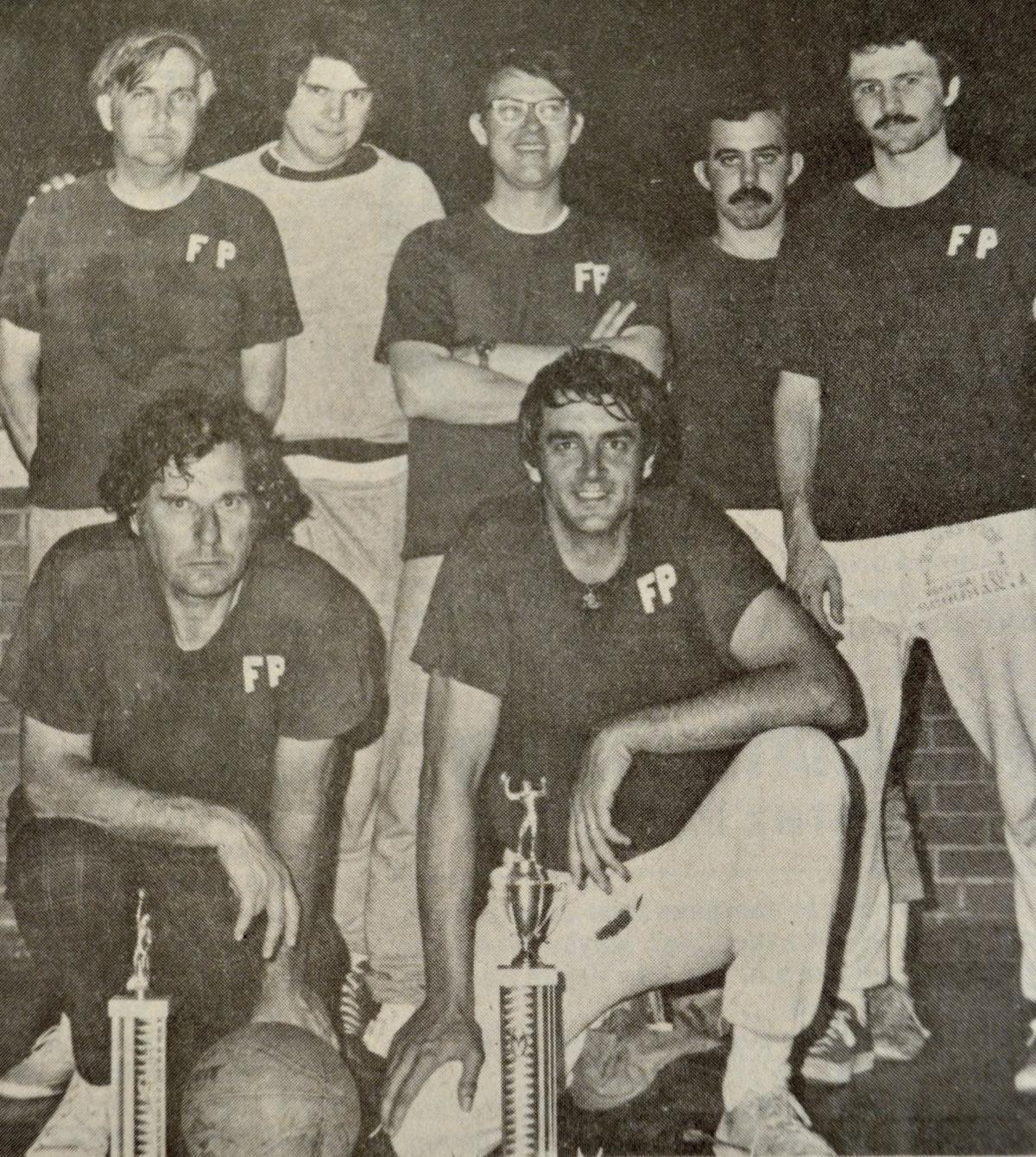 1976 First Presbyterian basketball team