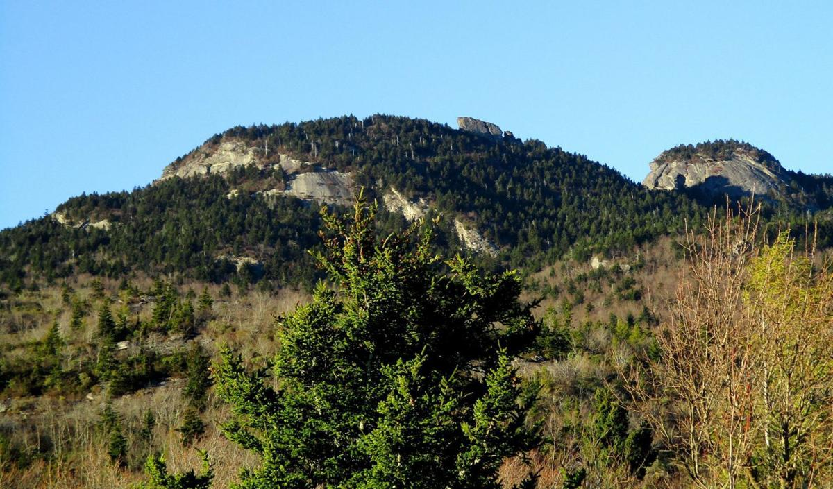 Grandfather Mountain seen from the east