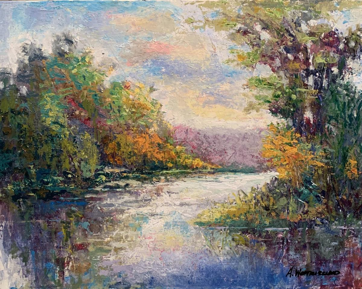 'Morning Glory' (14 x 18) by Amos Westmoreland in oil at Alta Vista Gallery.