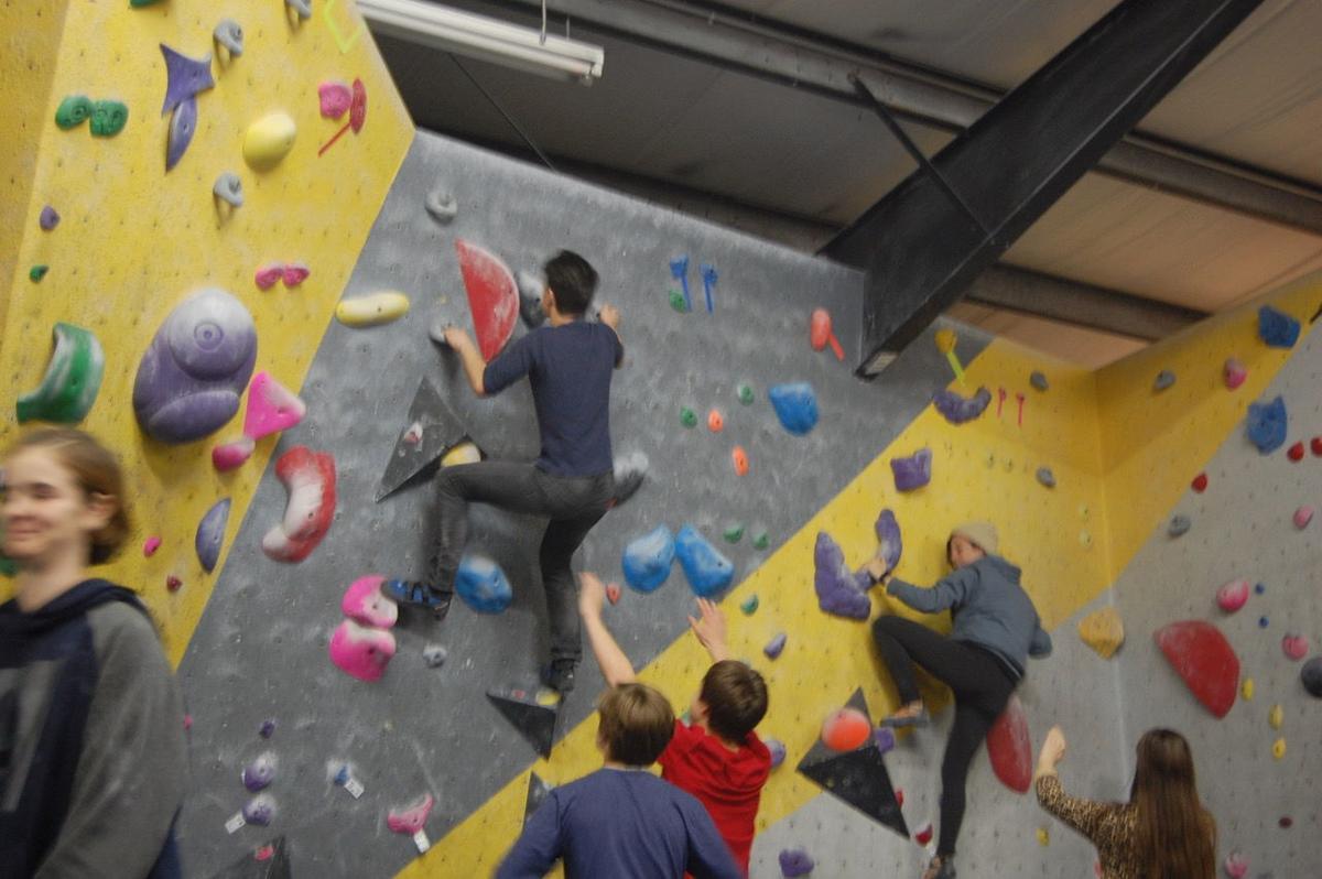 Climbathon event