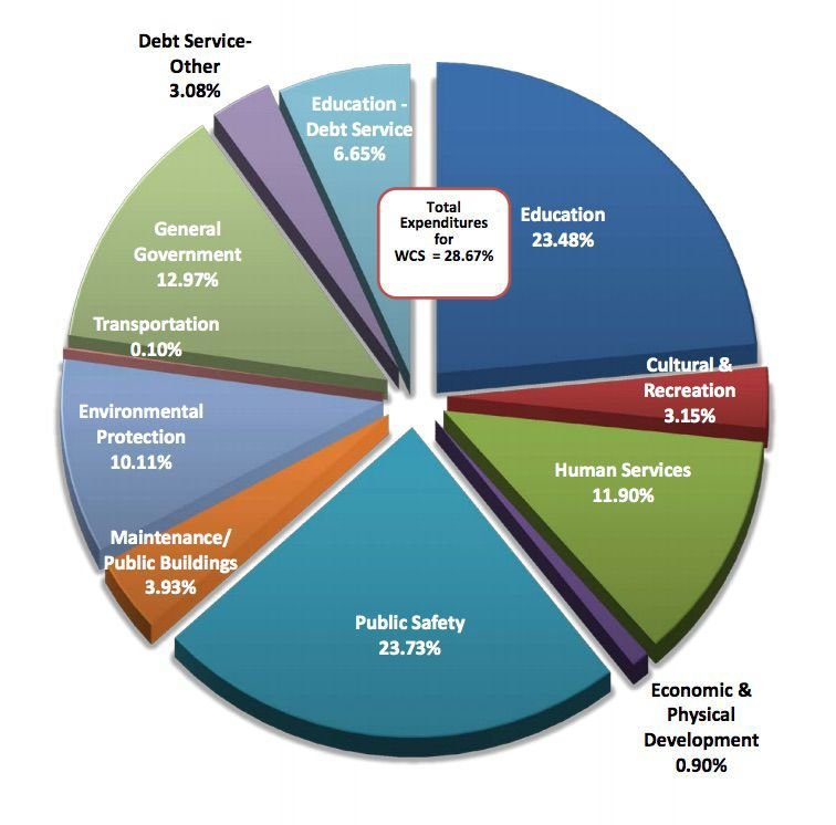 County expenditures