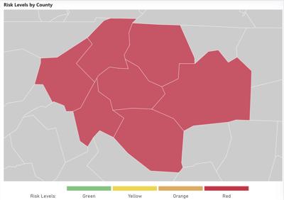 Sept. 21 risk map