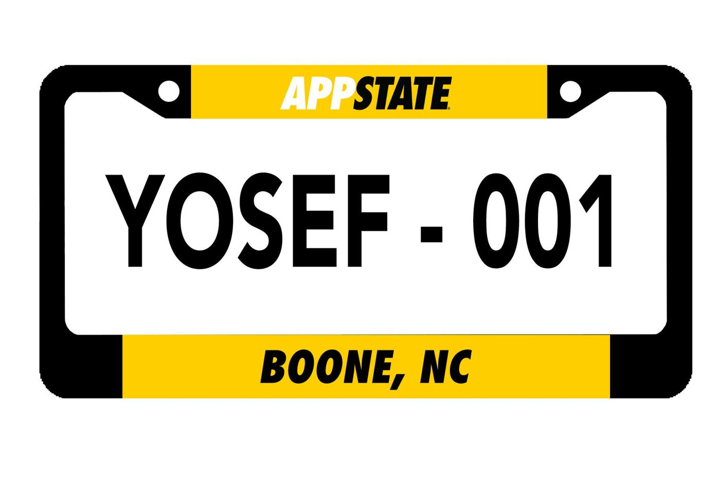 Front License Plate