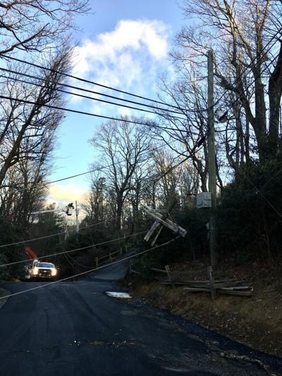 Green Hill Road power lines
