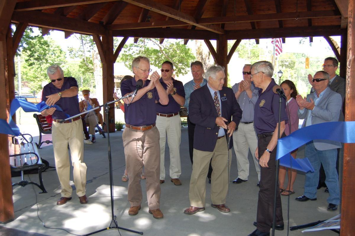 New Blowing Rock Rotary Gazebo Opens Blowing Rocket