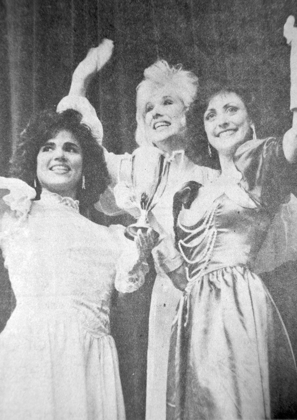 Julianne Griffin, Alison Briner, Sheri Cowart