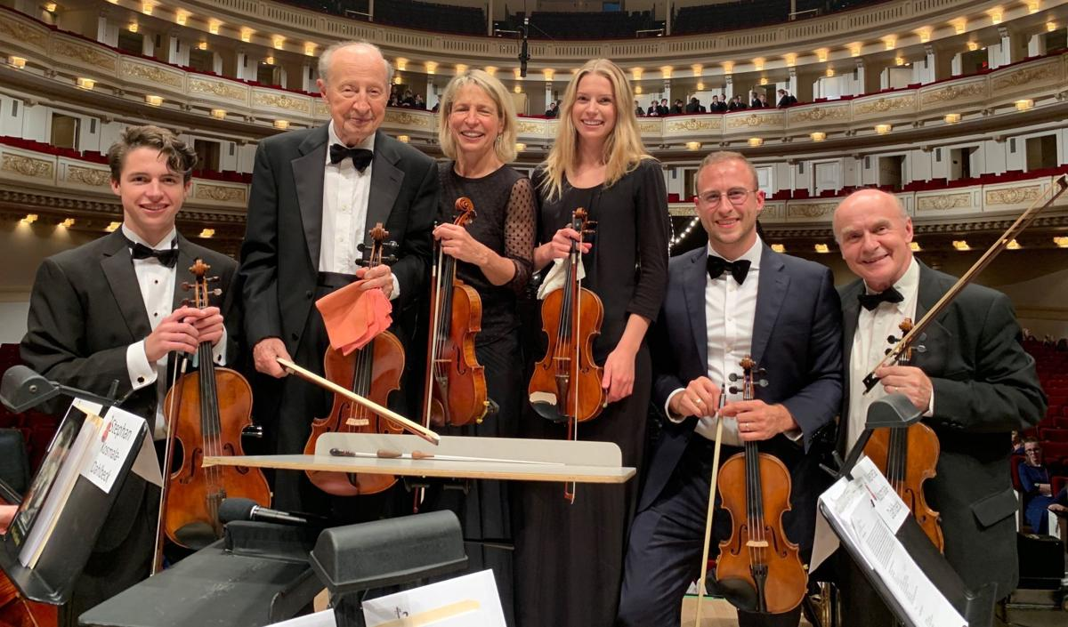 Kosmala family in Carnegie Hall